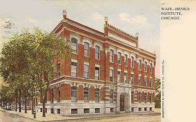 The Wahl-Henius Institute in Chicago.